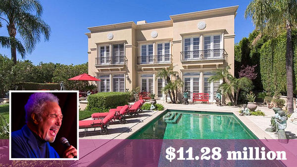 Singer Tom Jones sells L.A.-area home and parcel next door for $11.3 million