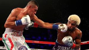 Jezreel Corrales defeats Robinson Castellanos in WBA super-flyweight title fight