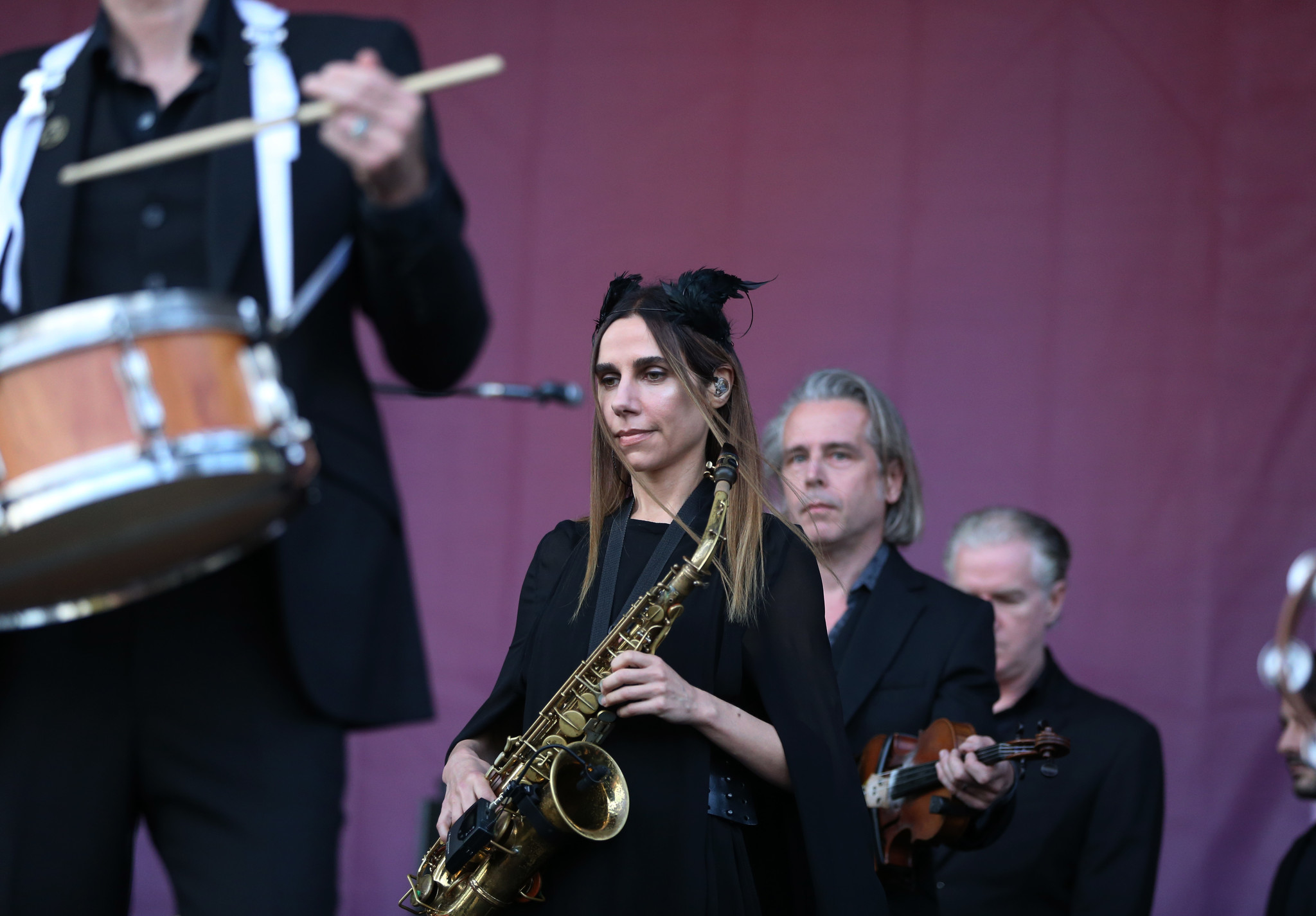 pitchfork day 2: pj harvey reminds everyone who's boss, a tribe