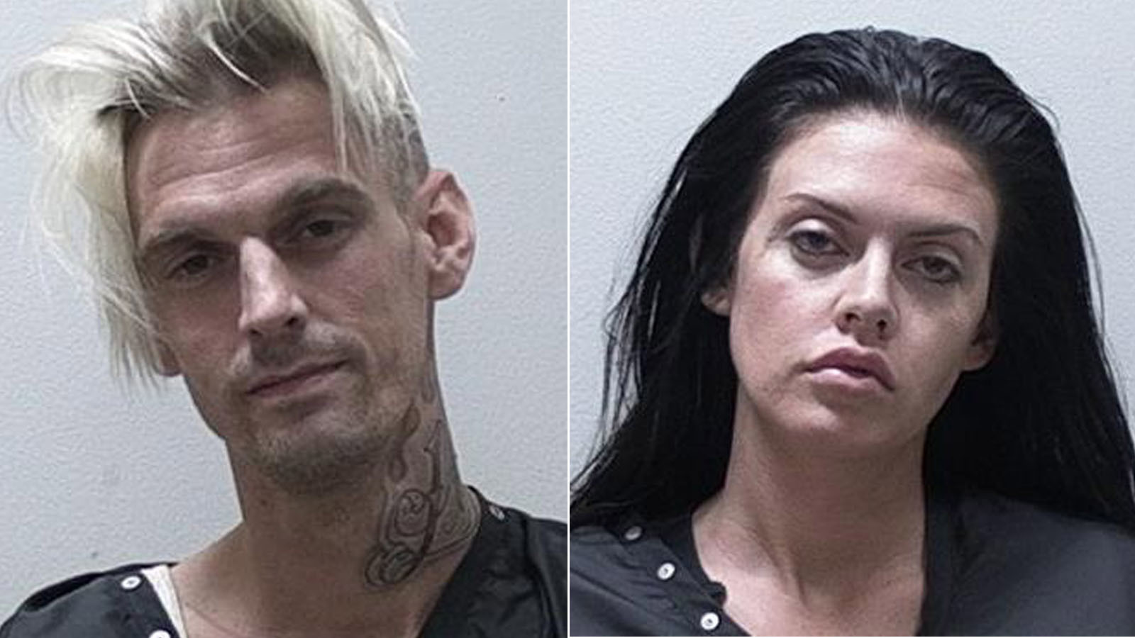 Singer Aaron Carter, girlfriend arrested in Georgia