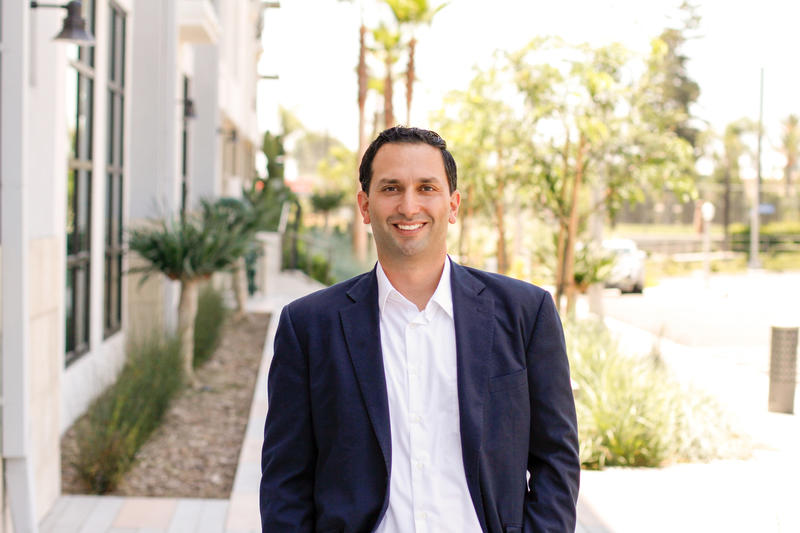 Sam Jammal, a Democrat running against Rep. Ed Royce, is one of four congressional challengers Democracy for America has endorsed. (Courtesy of Sam Jammal for Congress)