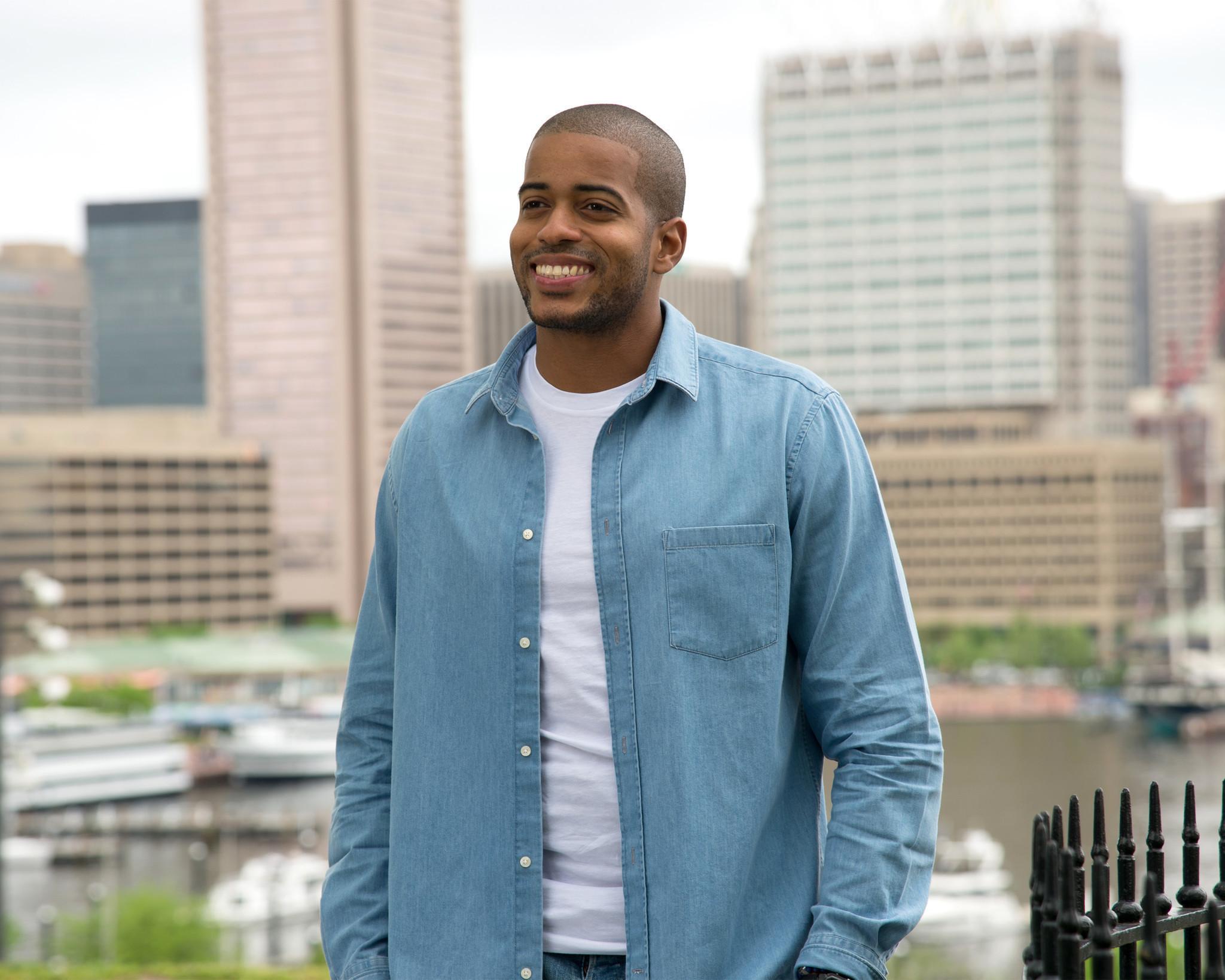Bachelorette Contestant Eric Bigger Talks Baltimore Basketball