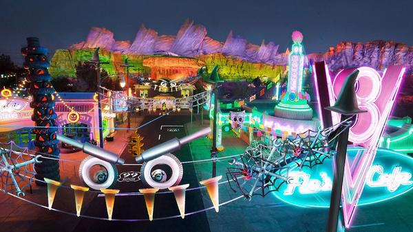 Cars Land for the first time will take a spooky turn at Disneyland's Halloween celebrations