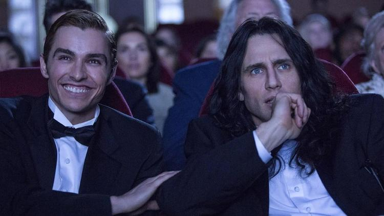 "Dave Franco and James Franco in the movie ""The Disaster Artist."" (SXSW) None"