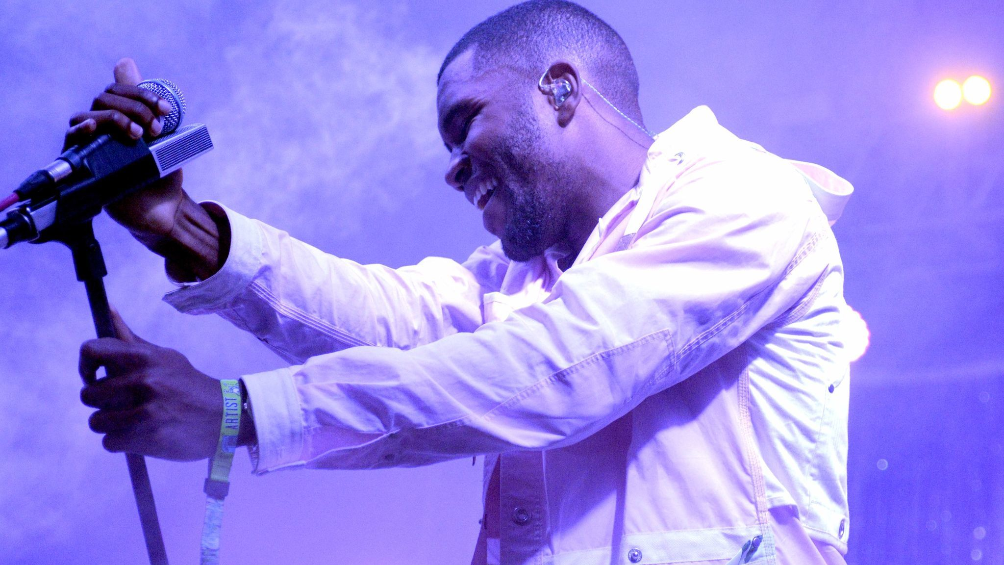 Frank Ocean at the 2014 edition of the Bonnaroo Music & Arts Festival in Manchester, Tenn.