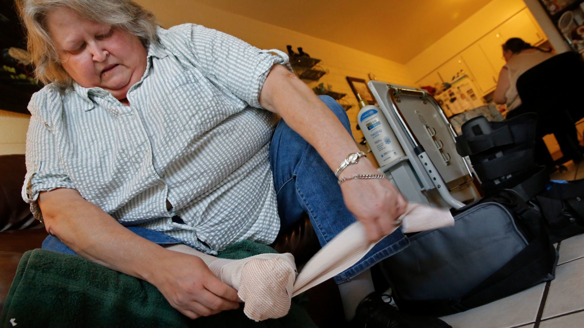 This Arizona woman lost part of her foot to a diabetes-related infection.
