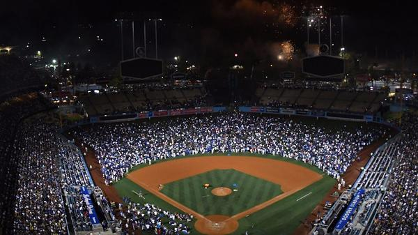 Dodgers are soliciting sponsorship offers for naming rights to field at Dodger Stadium