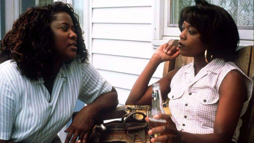"Loretta Devine, left, and Alfre Woodard in ""Down in the Delta."""