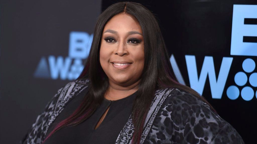 Loni Love arrives at the BET Awards at the Microsoft Theater in Los Angeles on June 25.