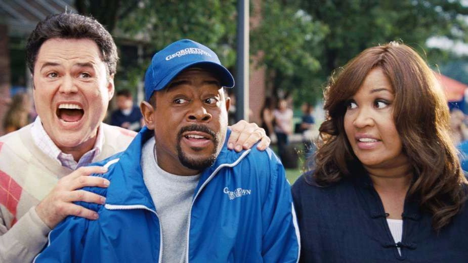 "Kym Whitley, with Donny Osmond, left,  and Martin Lawrence, in the 2008 Disney comedy ""College Road Trip."""