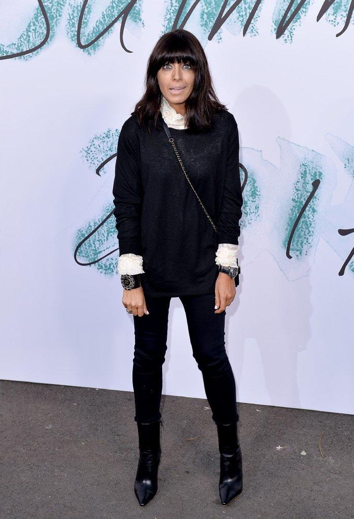 """""""Strictly Come Dancing"""" host Claudia Winkleman is the BBC's top-earning female. (Jeff Spicer / Getty Images)"""