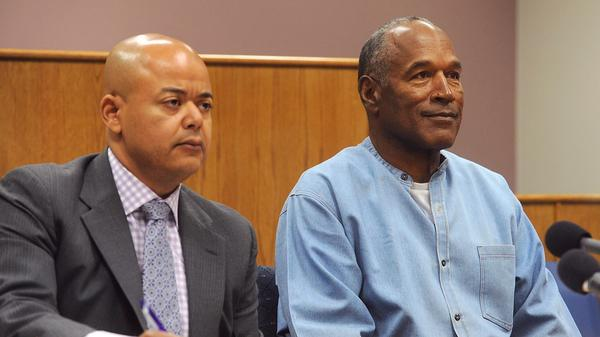 O.J. Simpson is granted parole after serving 9 years for Vegas robbery