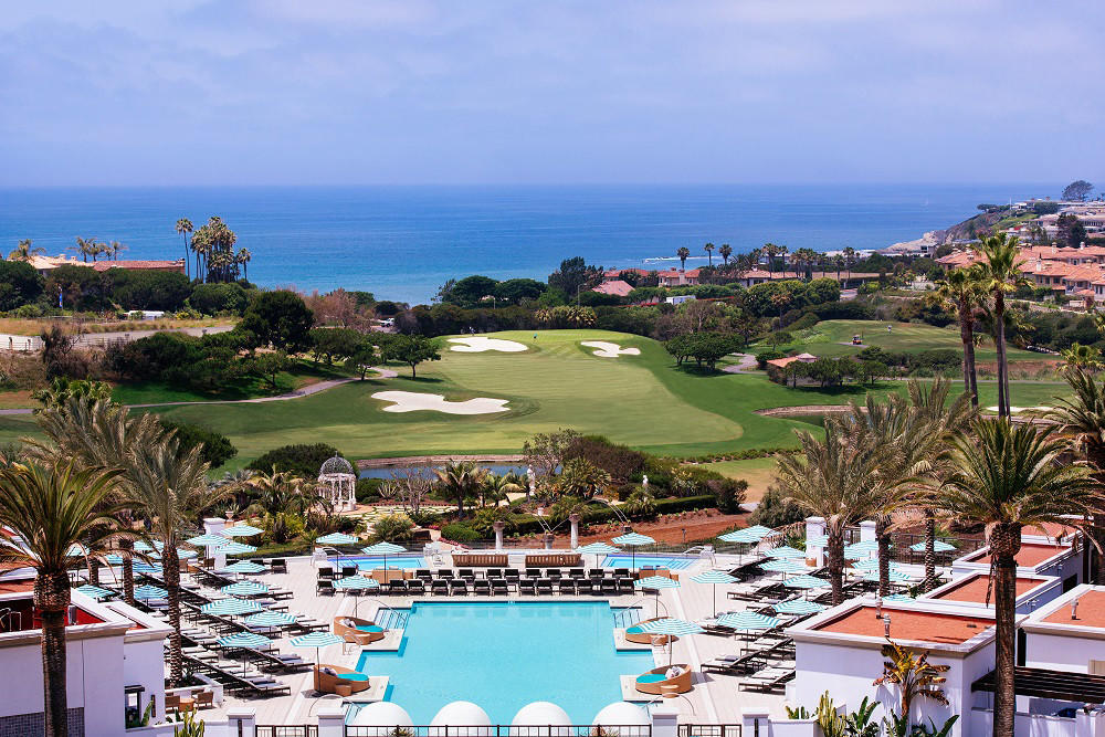 Monarch Beach Resort in Dana Point.