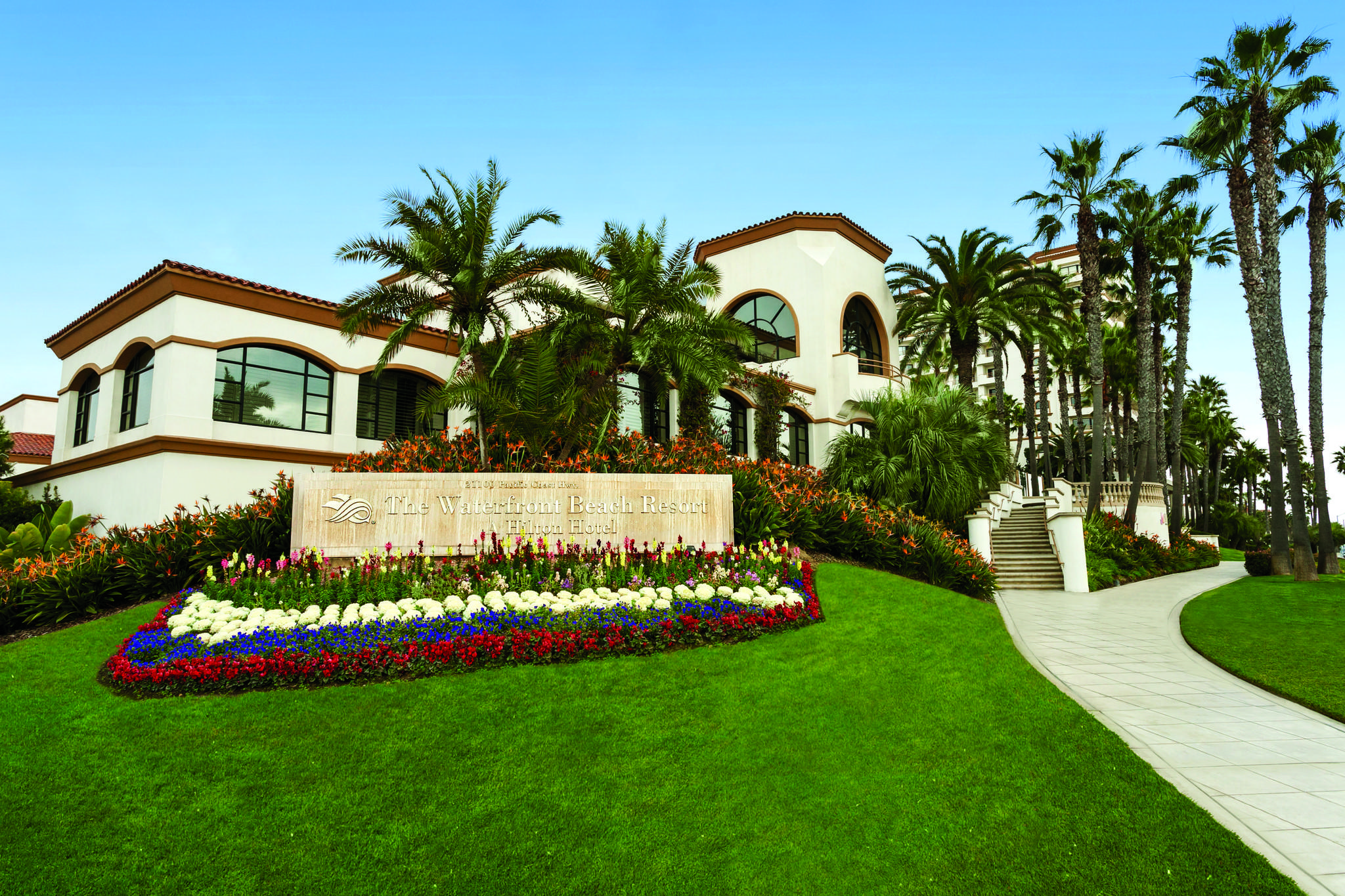 The Waterfront Beach Resort, a Hilton Hotel in Huntington Beach.