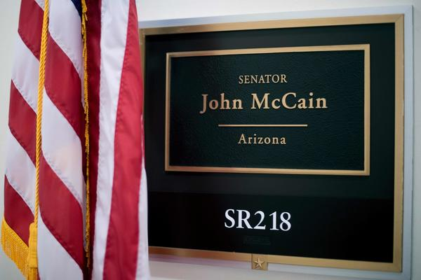 McCain's absence leaves GOP with thin Senate majority, complicating Obamacare repeal and wider agenda