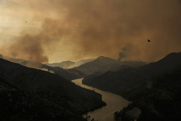 Massive California fire sends smoke all the way to Idaho while choking Yosemite and Lake Tahoe