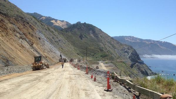 A part of Highway 1 in Big Sur has reopened, but other issues remain on the coastal route