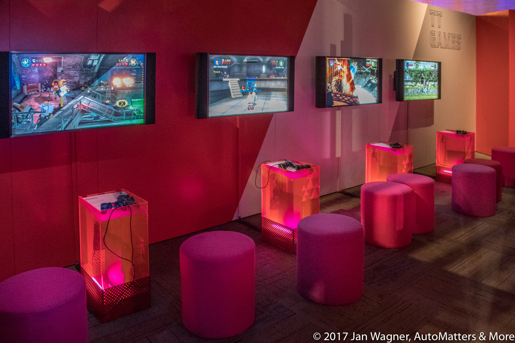 "Games at ""Game Masters – The Exhibition"""