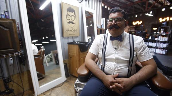 Why are these Tijuana barber shops all the rage with Mexican men?