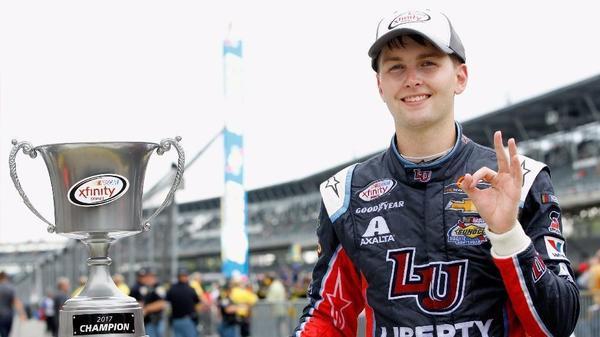 NASCAR: Youth has his day at Indianapolis