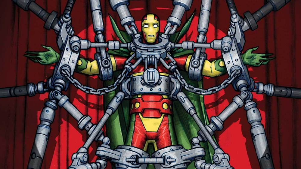 "Detail of ""Mister Miracle"" cover. (Nick Derington / DC Entertainment)"