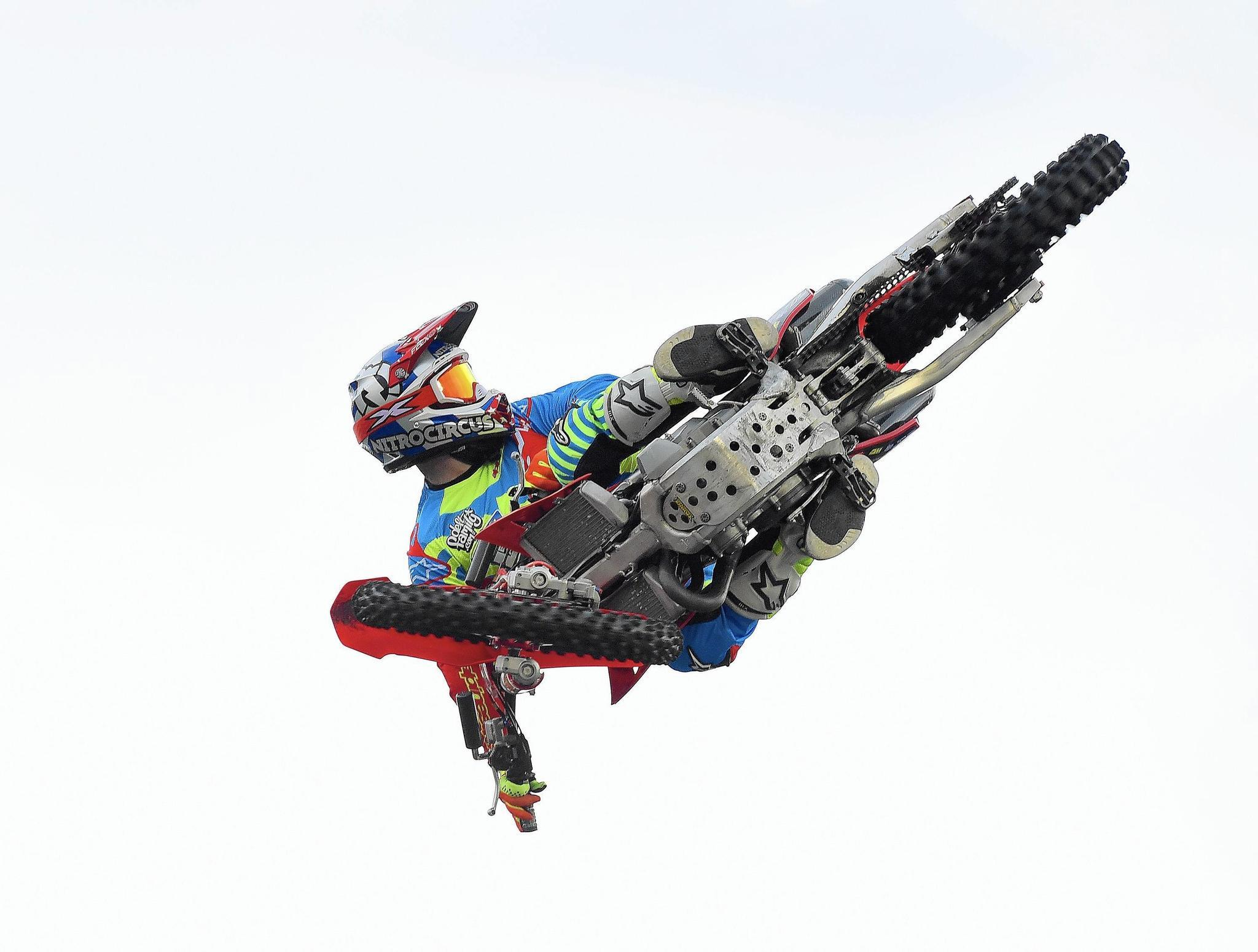 sports comment cool to go behind the scenes at nitro circus live