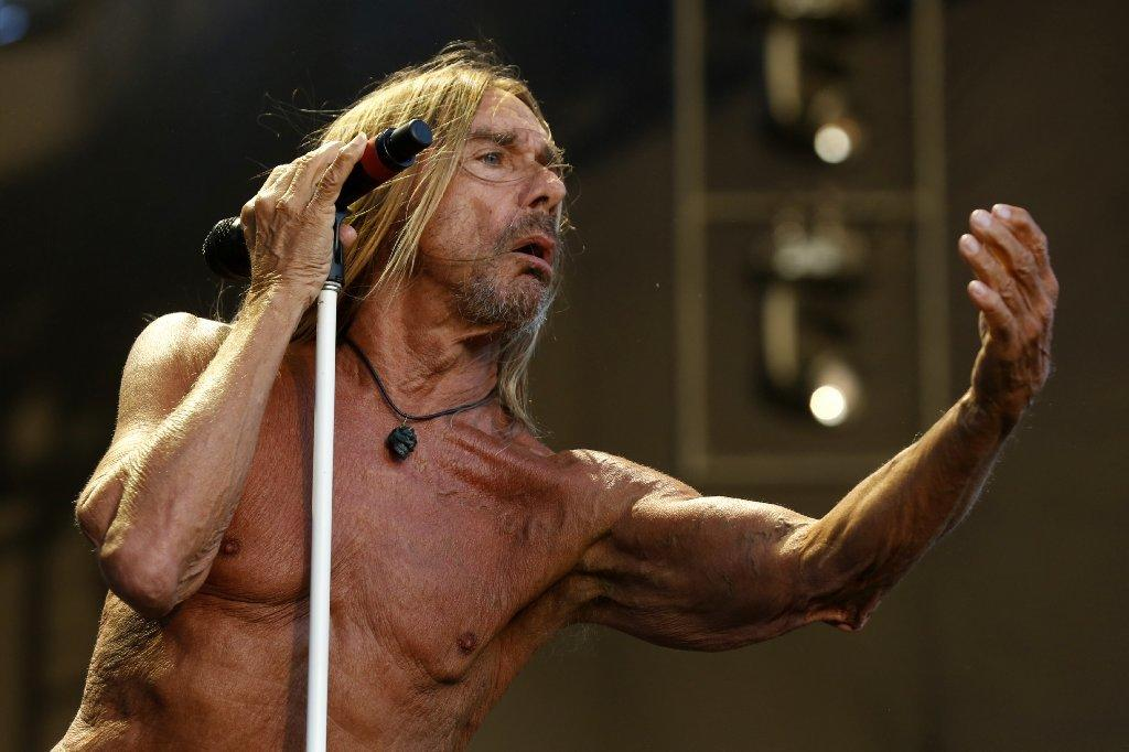 Iggy Pop was in prime form at FYF Fest on Sunday. (Gary Coronado / Los Angeles Times)