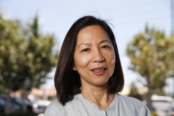 Pediatrician and Democrat Mai Khanh Tran is one of five first-time candidates challenging the reelection bid of Rep. Ed Royce (R-Fullerton). (Allen J. Schaben / Los Angeles Times)