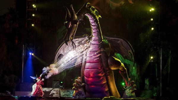 Out with the old, in with the new: Disneyland's 'Fantasmic' drops old favorites for new stars