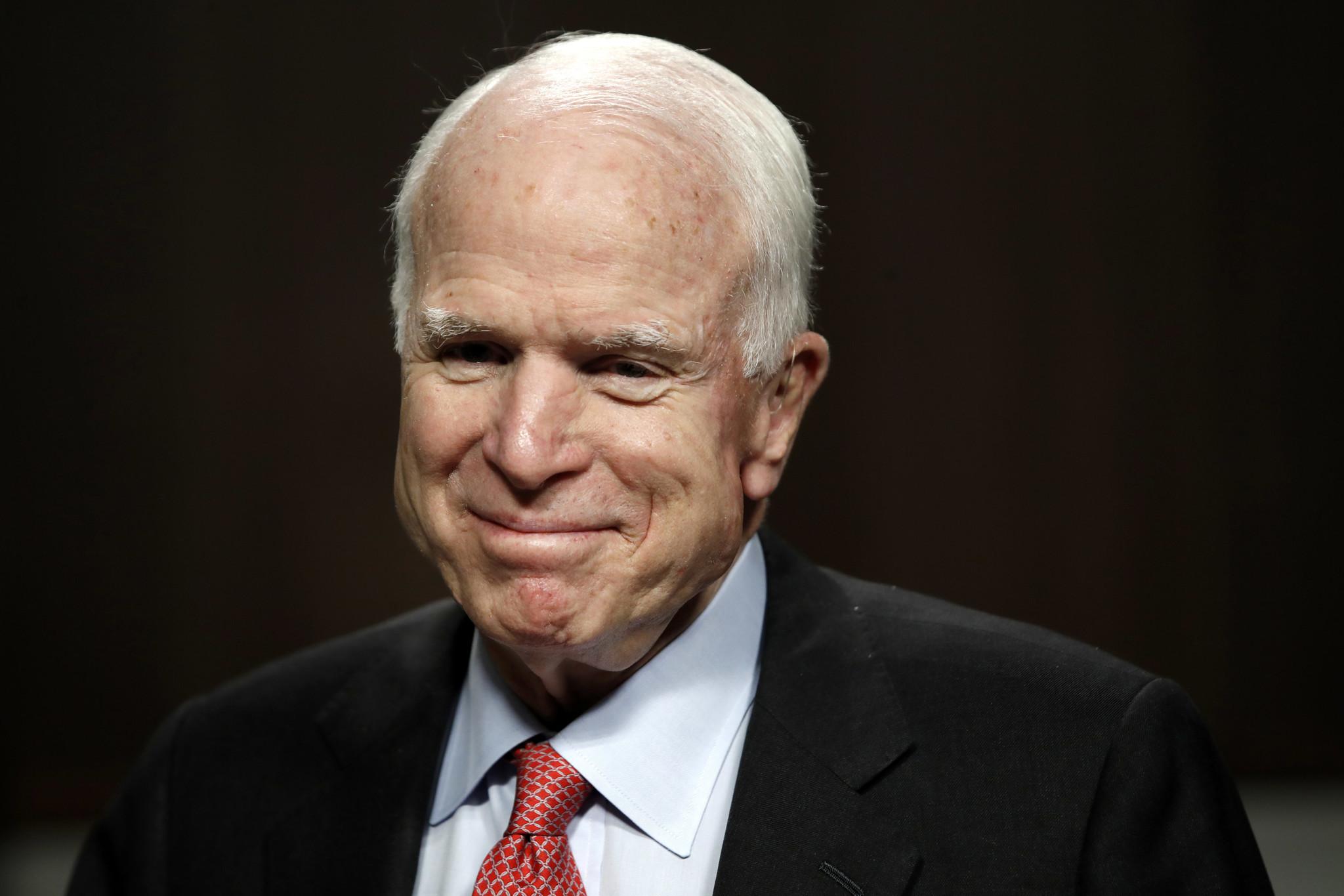 Sen. John McCain. (Jacquelyn Martin / Associated Press)