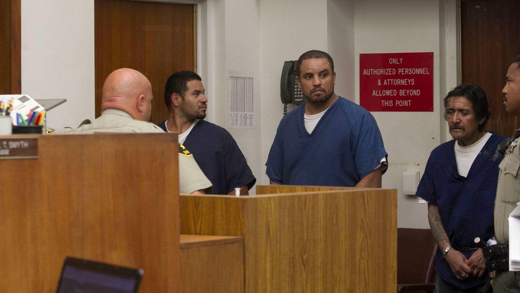 11 plead not guilty in Mexican Mafia prison gang case