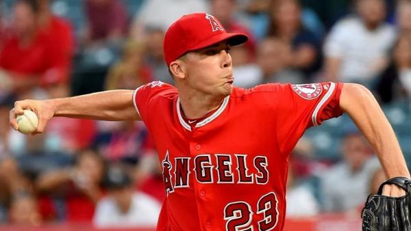 Angels place Alex Meyer on disabled list