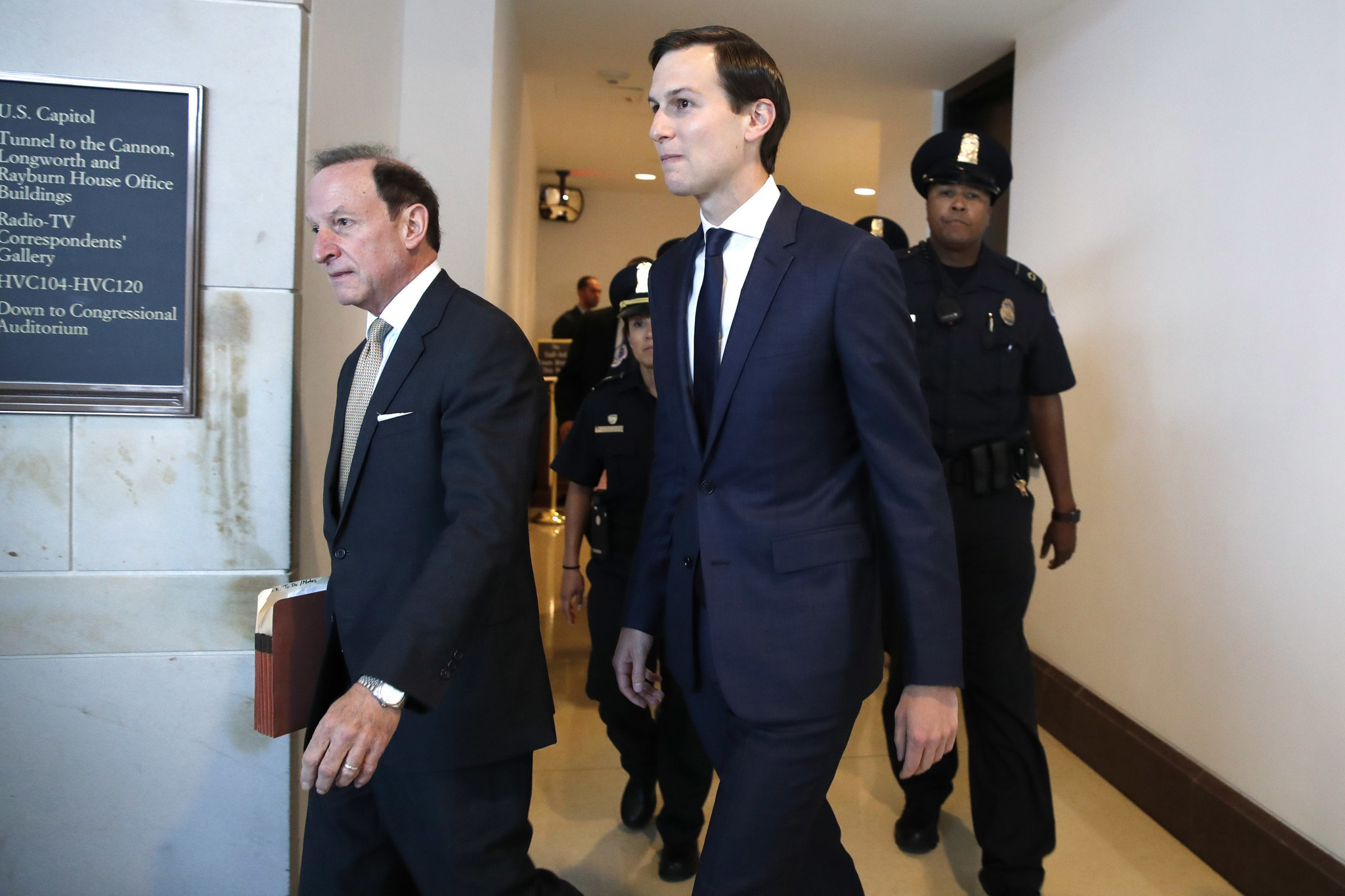 nypostcom Kushner returns to Capitol Hill for
