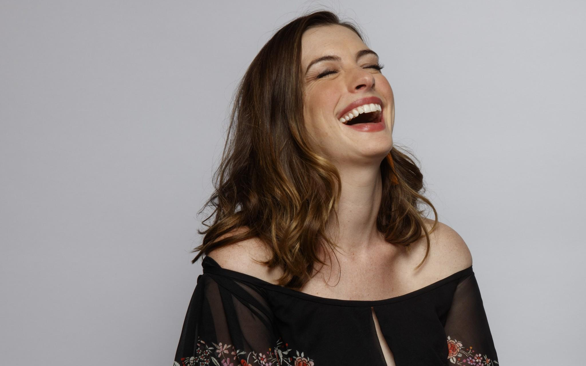 Anne Hathaway might fi... Anne Hathaway