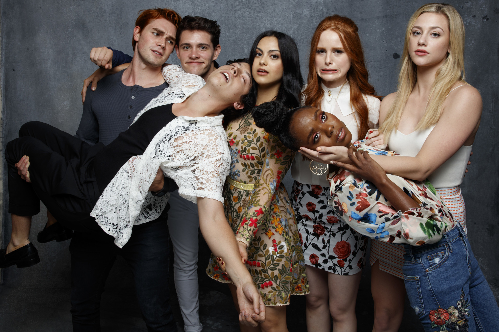 "The cast of ""Riverdale"" talk Season 2, dream 'ships and supernatural twists at Comic-Con. (Jay Clendenin / Los Angeles Times)"