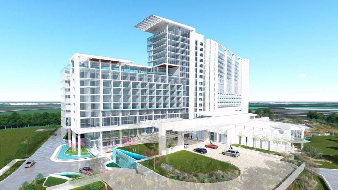 Jw Marriott Hotel With 516 Rooms Planned Near Disney World S Epcot Orlando Sentinel