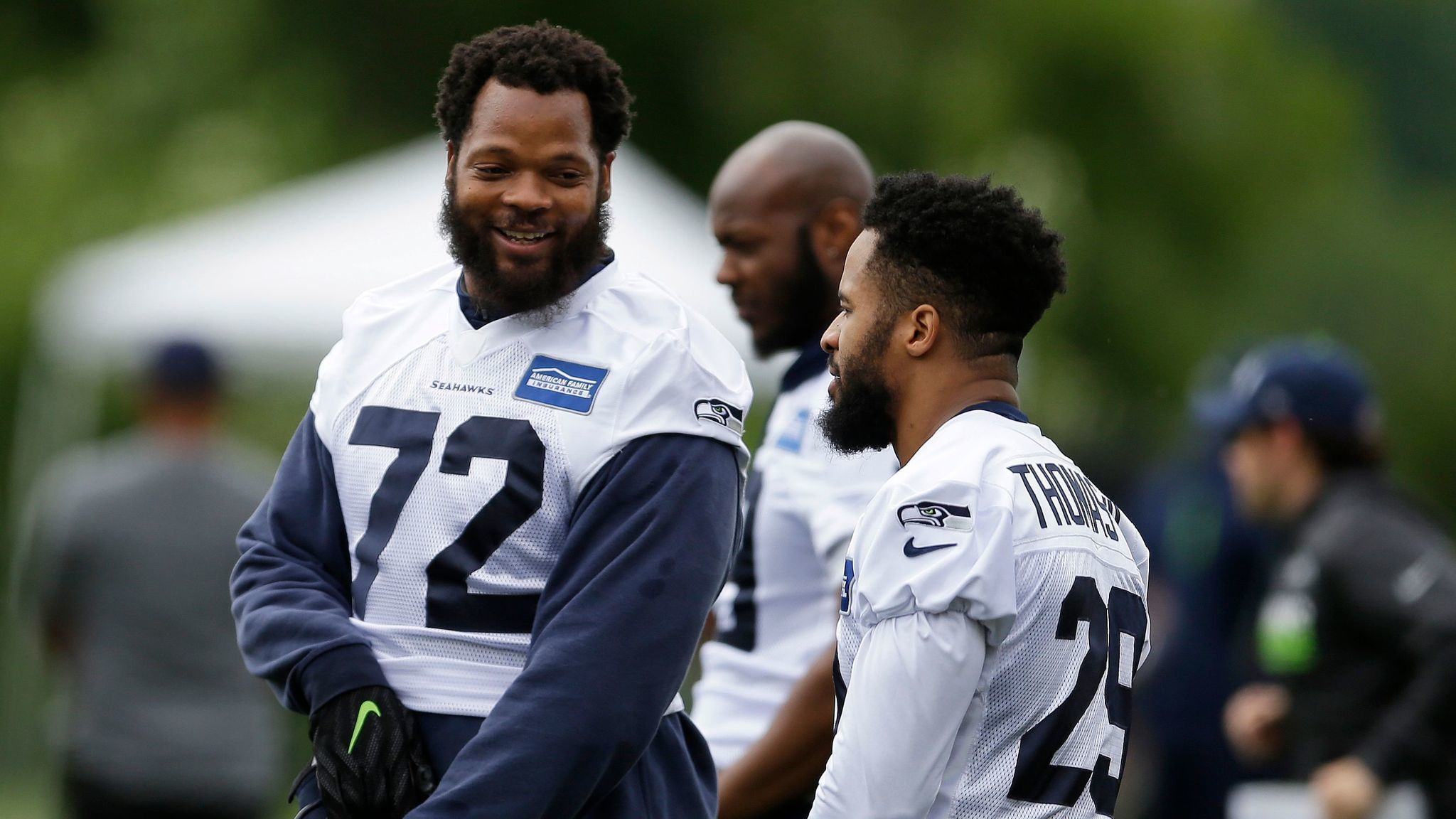 Seattle Seahawks star Michael Bennett is writing a book How to