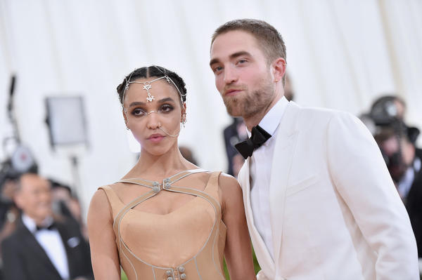 Robert Pattinson 'kind of' confirms he's engaged to singer FKA Twigs