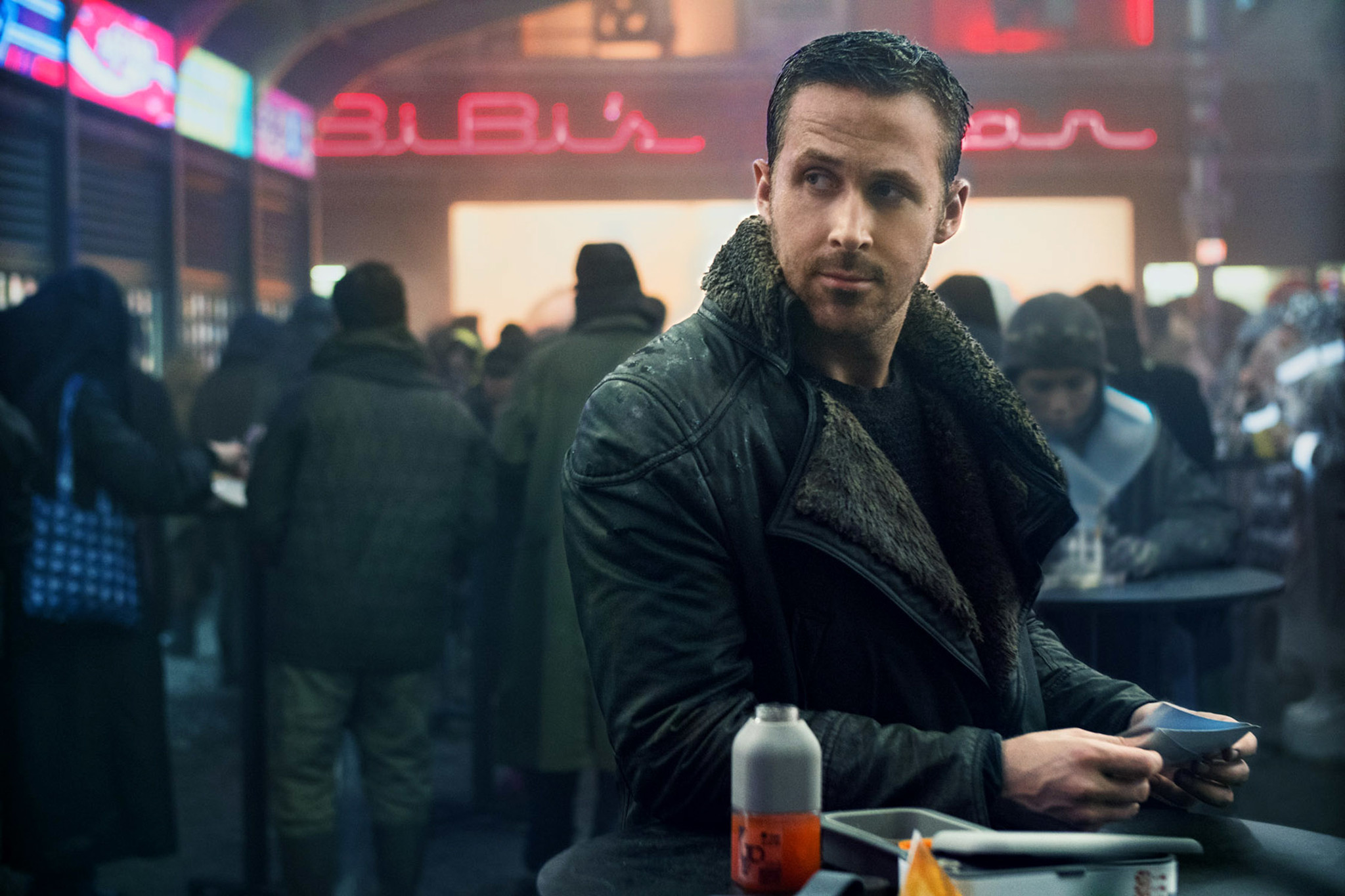 "Ryan Gosling in ""Blade Runner 2049 (Stephen Vaughan / Warner Bros.)"