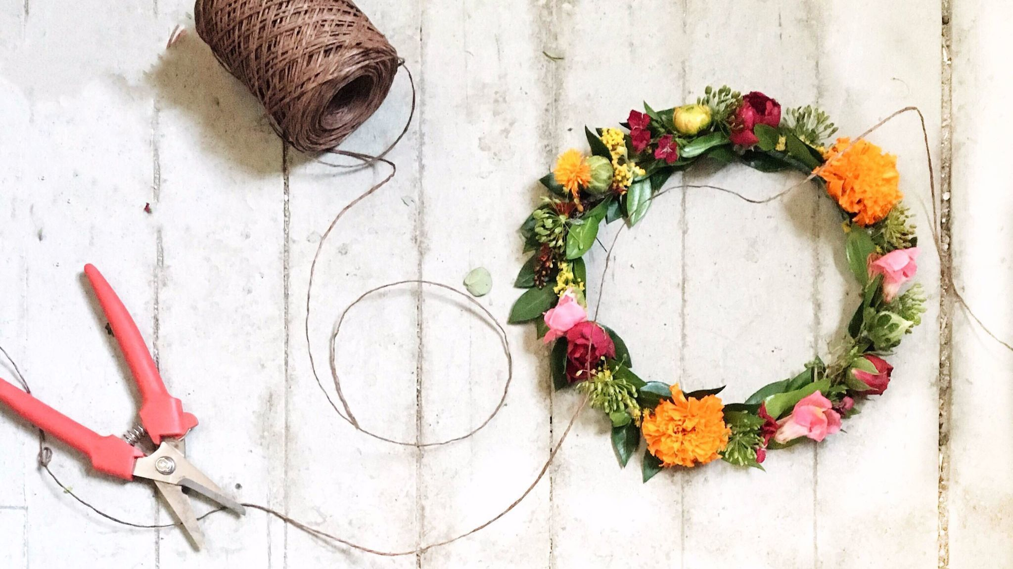 Make Your Own Flower Crown For Lollapalooza At Travelle Kitchen