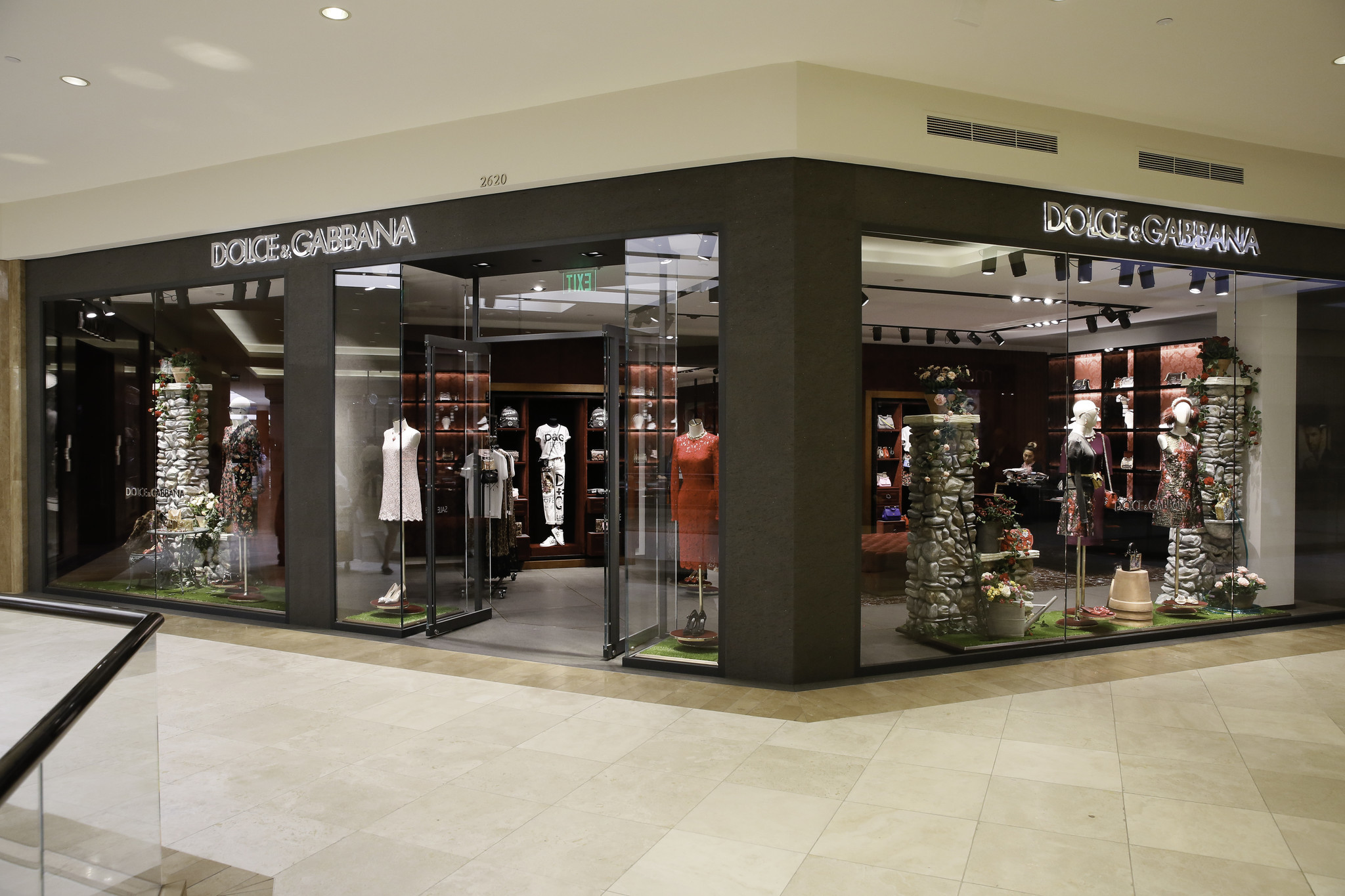 The July 25 cocktail party was held at Dolce & Gabbana's South Coast Plaza boutique.