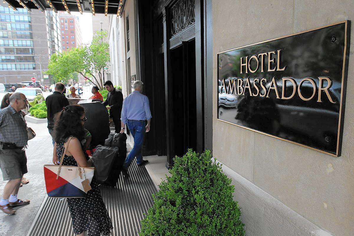 Rebranding of Public hotel brings back part of famed name: Ambassador -  Chicago Tribune
