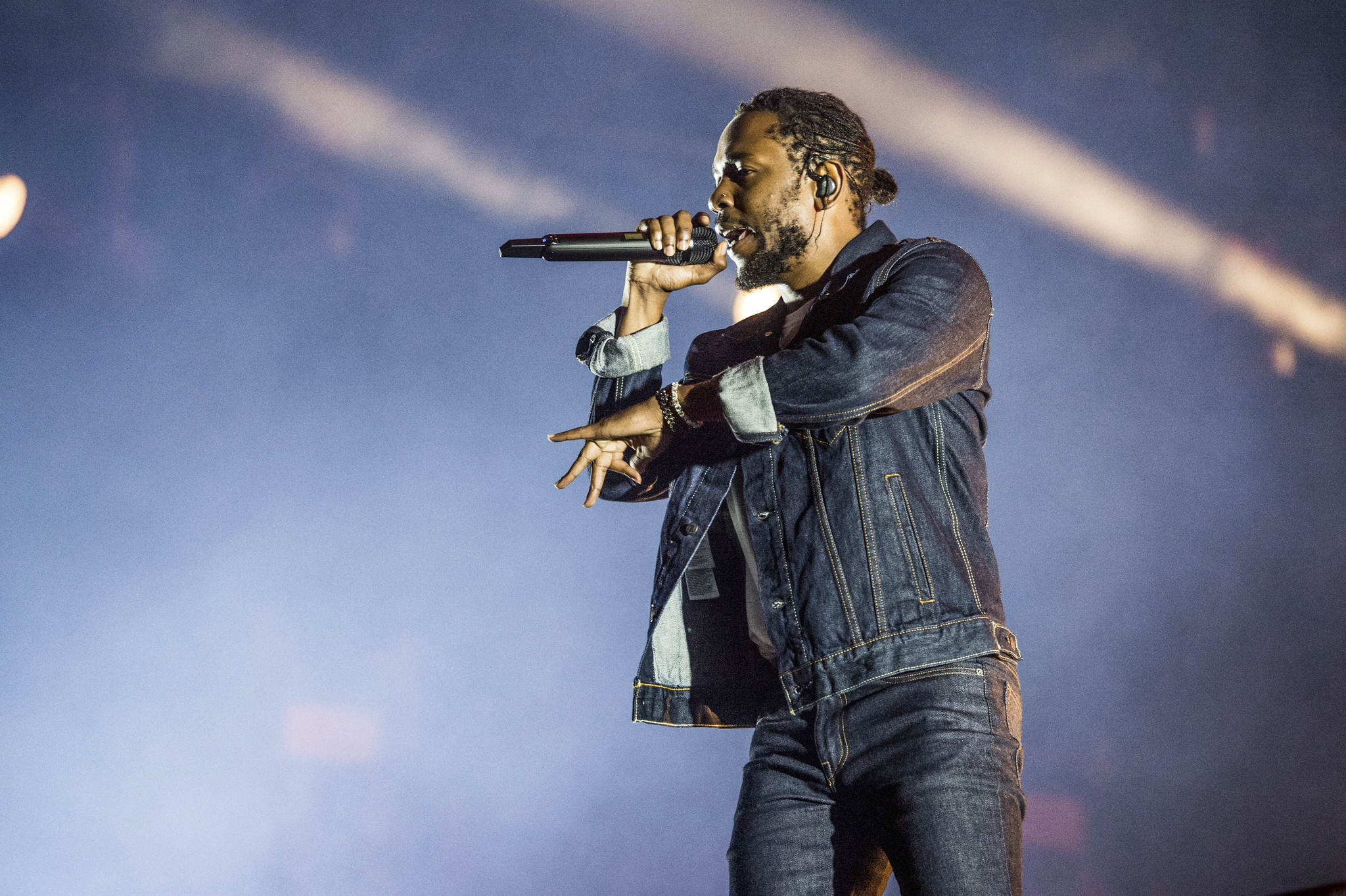 Kendrick Lamar Alone With His 'secret Society' At United Center