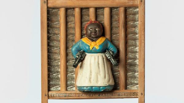 Betye Saar's gun-totin' mammies turn stereotype into power at the Craft & Folk Art Museum
