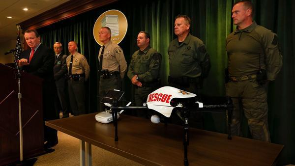 Majority of civilian oversight body wants L.A. County sheriff to stop flying drone