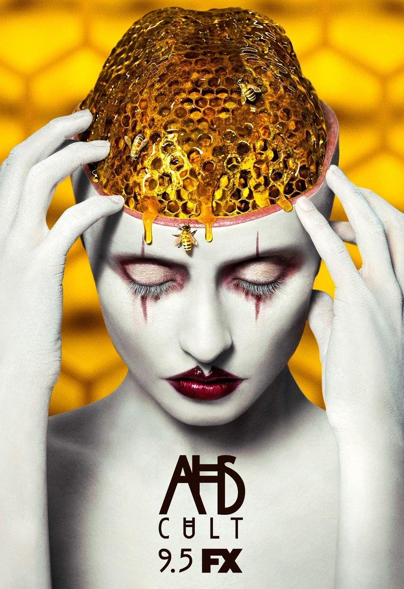 """The poster for FX's """"American Horror Story: Cult,"""" which premieres in September. (FX)"""