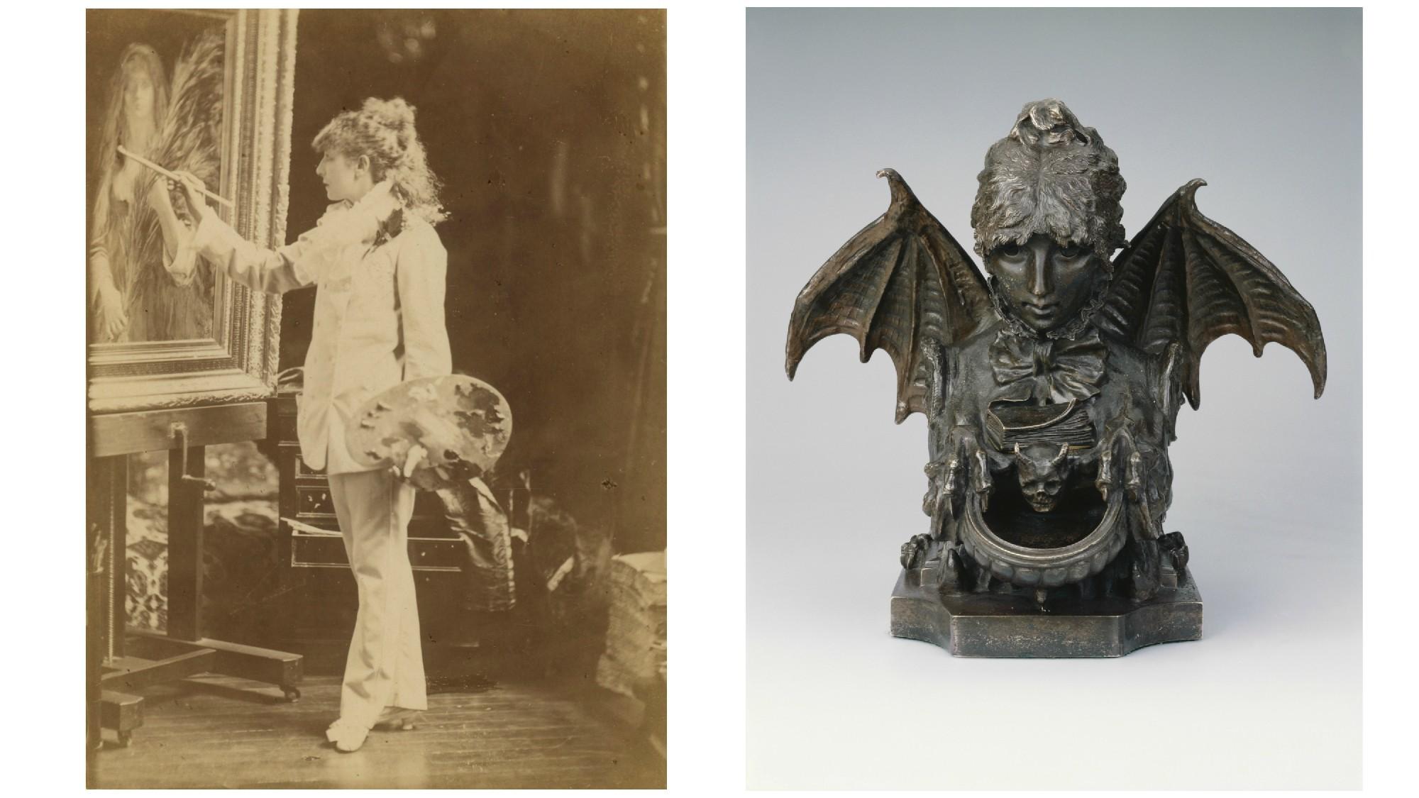 "Achille Melandri's ""Sarah Bernhardt"" and Sarah Bernhardt's ""A Self-Portrait as a Chimera"""