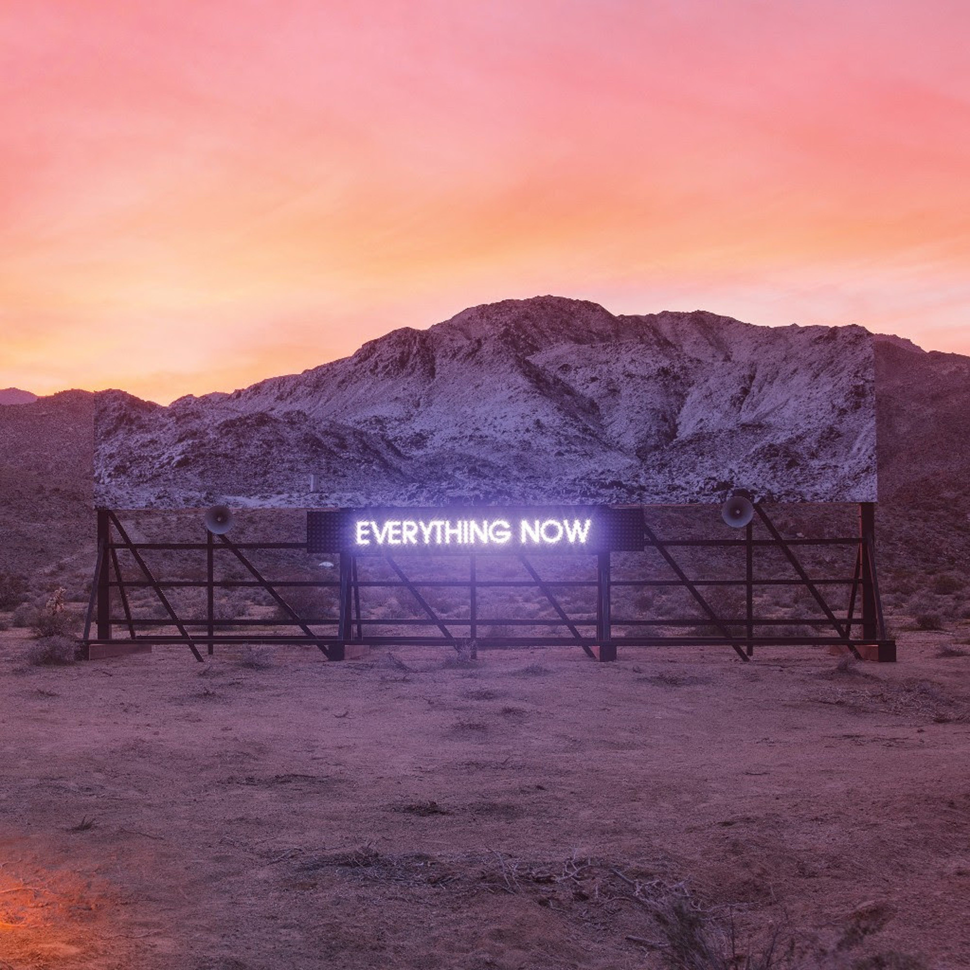 Image result for arcade fire everything now cover