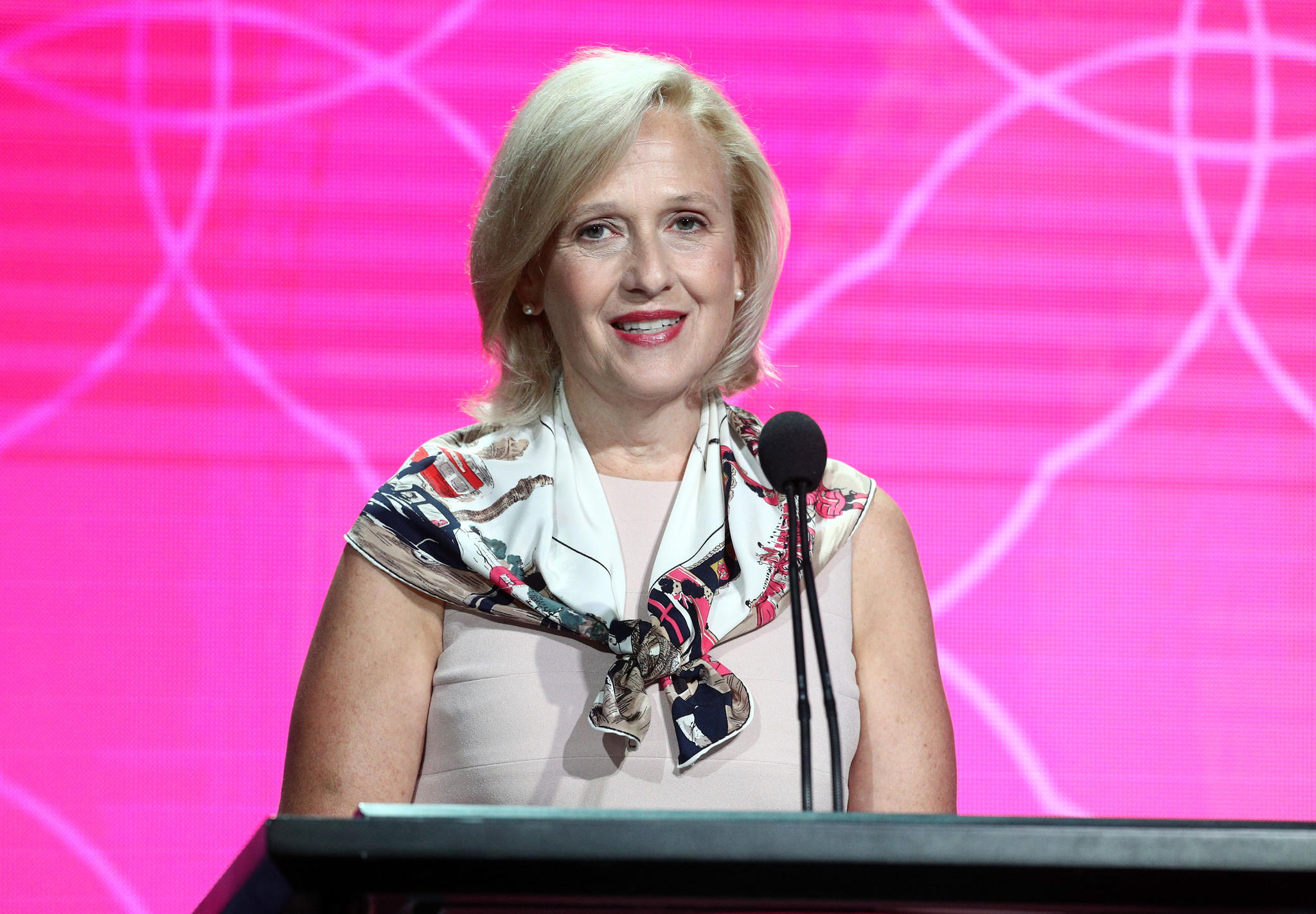 Paula Kerger, chief executive of PBS (Frederick M. Brown / Getty Images)