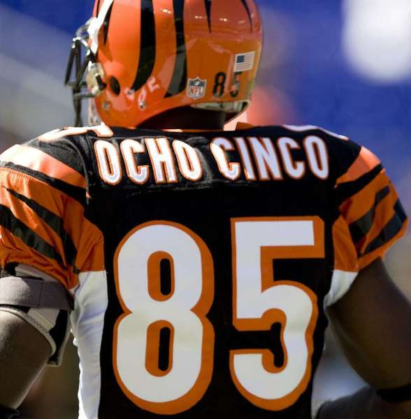 Former Bengal Chad Johnson (MCT)
